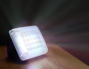Gary & spøgelse LED F-12 Home Security TV Simulator Dummy Fake TV Tyverialarmer Intruder Thief afskrækkende Kriminalpræventive enhed med indbygget lyssensor & Timer