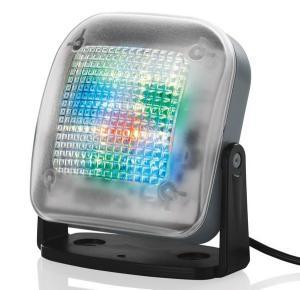 Home Security Dummy Fake LED TV Simulator Tyverialarmer afskrækkende w Light Sensor Timer