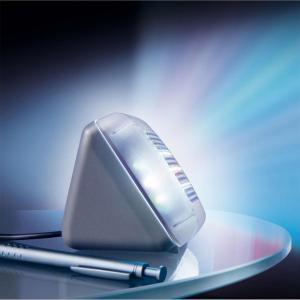 LED Dummy TV Simulator Fake TV For Home Security Burglar Intruder Anti Thief Device Indbygget lys sensor og Timer US Plug