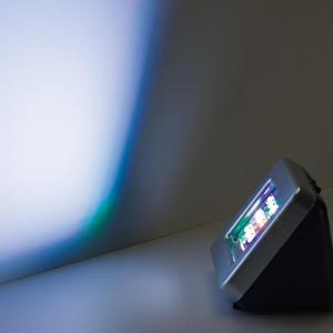 LED TV Simulator transmitteret lys simulation til brug som beskyttelse mod indbrud